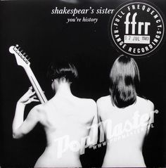 Shakespear s Sisters You re History F112 Promo Copy