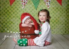 Sibling Christmas pic