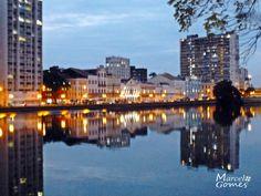 """Rio Capibaribe"". ""Rua da Aurora"". #Recife. Estado de Pernambuco, Brasil."