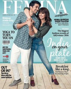 Siblings best friends and actors Saqib Saleem & Huma Qureshi on the cover of Femina. September 2016 Issue.  #SaqibSaleem #HumaQureshi #Femina #FeminaIndia #FeminaMagazine #magazinecover #bollywoodmagazines #celebritymagazine #magazine #magazineshoot #covershoot #photooftheday #celebrity #photoshoot #bollywood #bollywoodactress #covergirl #picoftheday #instapic #instadaily #instagood #instalike #filmywave