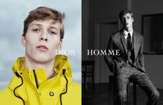 """Dior Homme unveiled its Spring/Summer 2015 campaign made in collaboration between Dior Homme creative director Kris Van Assche and photographer Willy Vanderperre. The campaign, titled """"The Letter"""", was inspired by a handwritten letter discovered. Fashion Tape, Mens Fashion, Fashion Menswear, Christian Dior, Mens Trends, Fashion Advertising, Winter Sale, Ss 15, Spring Summer 2015"""
