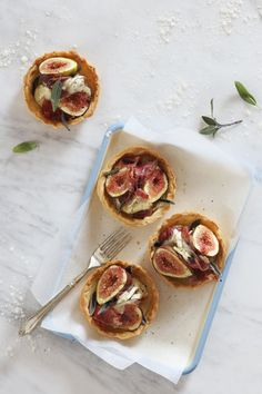 Fig, Brie and Prosciutto Tartlets | Crush 54