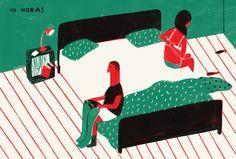 Catarina Sobral Illustration, daily life II
