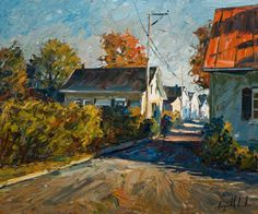 Raynald Leclerc, artist, original paintings at White Rock Gallery