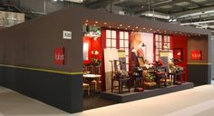 Our booth at the last MIDO 2013