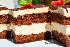 Mousse, Tiramisu, Sweets, Cookies, Cake, Ethnic Recipes, Desserts, Romania, Mint