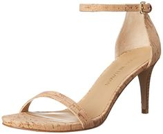 Stuart Weitzman Womens Nunaked Heeled Sandal Natural 75 M US -- New and awesome product awaits you, Read it now