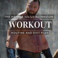 Hafþór Júlíus Björnsson Workout Routine and Diet: The Mountain Workout for Game of Thrones Planet Fitness Workout, Muscle Fitness, Mens Fitness, Celebrity Diets, Celebrity Workout, Celebrity Fitness, Weight Training Workouts, Gym Workouts, Workout Routines