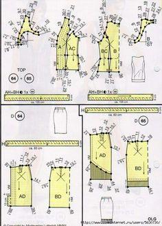 Современный лучевой крой Vogue Sewing Patterns, Doll Patterns, Vintage Patterns, Vintage Sewing, Dress Patterns, Sewing Crafts, Sewing Projects, African Quilts, Vintage Vogue