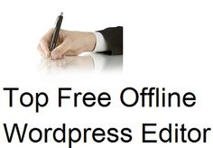 Wordpress blogging these days have been really simplified all the problems in the blog with the default lotof plugins coming up with the free of cost. There are many offline editor in the internet which makes your work very simple .Among the numerous off-line editing tools i searched the all andlisted thefew most popular…