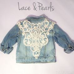 Image of Lace & Pearls jacket Limited Kollection