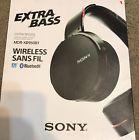 Sony MDR-XB950BT Extra Bass Bluetooth Wireless Headset - Black READ
