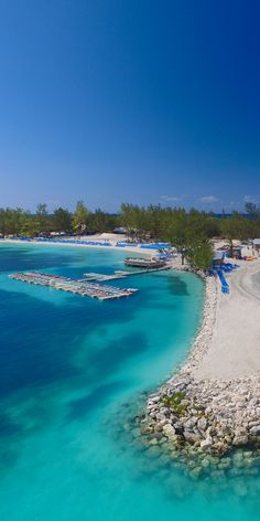 CocoCay, Bahamas | What would you do with 8 hours in CocoCay? The private island's trademark blue seas and warm sand make it a perfect landing spot for relaxation and adventure. Cruise to CocoCay exclusively through Royal Caribbean to sit back in a coastline cabana, soar 400 feet above the island on a parasail, and find adventure anywhere in between.
