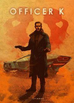 officerk k joe blade runner 2049 spinner peugeot Cultura Pop, Blade Runner Poster, Science Fiction, Car Posters, Movie Posters, Geeks, Evil Dead, Eden Design, Denis Villeneuve
