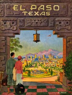 Brochure from 1931 for El Paso, Texas.