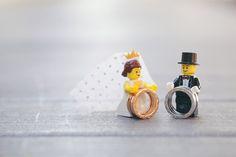 Photo by Ian Photography. LEGO themed inspired wedding. www.theweddingnotebook.com