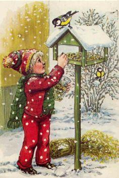 fete noel vintage gifs images - Page 7 Very Merry Christmas, Christmas Cross, Winter Christmas, Gifs, Gif Animé, Antique Christmas, Old Postcards, Illustrations, Vintage Antiques