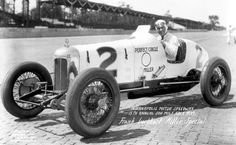 Frank Lockhart-Indianapolis 500 -1927 Four-lap (10 mile) qualifying runs were utilized. Frank Lockhart won the pole position with a speed of 120.10 mph. Lockhart set a new 1-lap track record on his final lap (car Perfect Circle Miller). Lockhart led the opening 81 laps, and a full 107 before his car broke a connecting rod, setting an opening lap-leader record that stood for 64 years