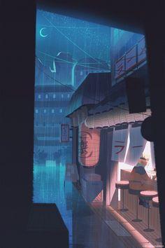 naruto wallpaper Rainy Night in Konohagakure, my piece for Gallery Nucleus! Naruto Shippuden Sasuke, Naruto Kakashi, Anime Naruto, Art Naruto, Susanoo Naruto, Boruto, Konoha Naruto, Sasuke Sakura, Shikamaru