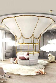 20 Luxury Dining Room with Gold Details - Kids Bedroom / Playroom - Kids Room Design, Home Design, Interior Design, Design Ideas, Design Projects, Room Interior, Design Trends, Design Inspiration, Modern Interior
