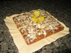 Almond-Laced Banana Cake
