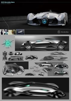 MERCEDES BENZ 2025 ROBORACE on Behance