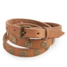 Cinturón Natural www.theamitycompany.com  #cinturón #piel #natural