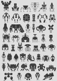 robots for kids ; robots for kids projects ; Game Character Design, Character Concept, Character Art, Croquis Robot, Conception Robot, Cousins, Robot Militar, Robot Sketch, Robots Drawing