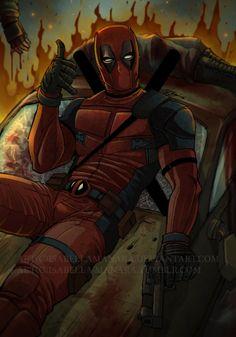 Deadpool by IsabellaManara