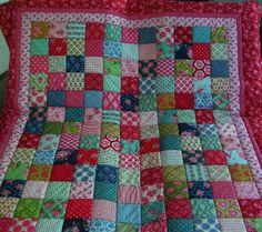 Decke aus Tildastoffen... von Meine bunte Flickenecke auf DaWanda.com