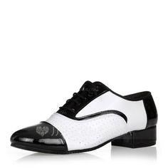 f43979f62185 Hommes Vrai cuir Modern Style Salle de bal Swing avec Dentelle Chaussures  de danse (053146785)