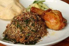 Ulam fried rice from The Fat Spoon. (Malaysia Most Wanted Food)