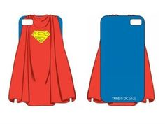 DC Comics iPhone 5 Rubber Case - Superman Cape - DC Comics Accessories
