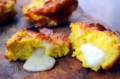 Muffin con patate e scamorza senza farina