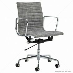 Eames Replica Management Office Chair - Fabric - Buy Designer Office Chairs & Office Chair Furniture - Milan Direct