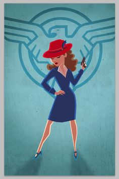 Done w/ my @HayleyAtwell #AgentCarter piece for @emeraldcitycon -I like how it came out. #ECCC2015 Find me: Table1214