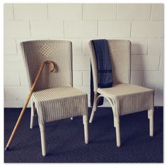 Two amazing cream-coloured wicker dining chairs - stunning on a patio/ next to a dining table! in the Chairs, Stools & Footstools category was listed for on 15 Oct at by Lifespace Homeware in Gauteng Wicker Dining Chairs, Outdoor Chairs, Dining Table, Outdoor Furniture, Outdoor Decor, Nice Cream, Stool, Patio, Stylish