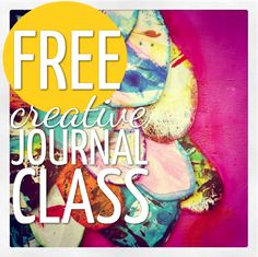 Free Creative Journal Class