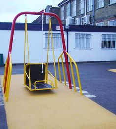 This Wheelchair Swing is designed specifically for wheelchair users giving control of the swinging momentum using the accessible rope. #wheelchairswing >>> See it. Believe it. Do it. Watch thousands of spinal cord injury videos at SPINALpedia.com