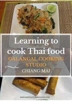 We did a cooking course in Chiang Mai at Galangal Cooking Studio