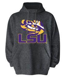 LSU Tigers Hooded Sweatshirt Icon Charcoal - $27.99 http://www.lsutigersapparel.com/lsu_tigers_hooded_sweatshirt_icon_charcoal_c_p418.htm