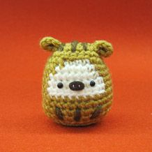 Ami costume zodiac | hand-knitted and handicraft information site Amuyuzu.  FREE CHART 12/14.