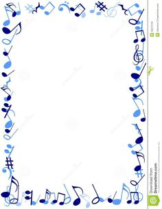 7 Best Images of Printable Musical Borders And Frames - Free Printable Music Borders, Music Notes Borders Frames Free and Music Notes Borders and Frames Music Paper, Art Music, Music Border, Printable Recipe Cards, Free Printable, Boarders And Frames, Music Lessons For Kids, Page Borders Design, Music Tattoo Designs