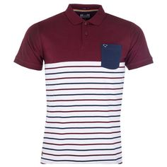 Polo Weekend Offender Danlayer pour homme en bordeaux Weekend Offender