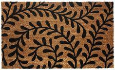 J & M Home Fashions Vinyl Back Coco Doormat, 18 by 30-Inch, Black Ferns J&M Home Fashions http://www.amazon.com/dp/B00K7VQNLW/ref=cm_sw_r_pi_dp_e2NZub1AG22XK