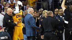 Idiot Nike Exec Cusses Out Cameraman For LeBron James' Injury (Video) LeBron James  #LeBronJames