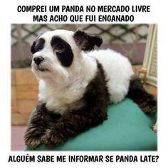 Panda do Mercado Livre