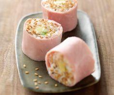 Les amateurs de cuisine asiatique connaissent bien les makis. Voici une recette pour en faire avec du jambon.