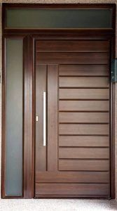 Benefits of Using Interior Wood Doors Flush Door Design, Front Door Design Wood, Door Gate Design, Wooden Door Design, Modern Entrance Door, Modern Wooden Doors, Wooden Front Doors, The Doors, Wood Doors