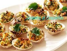 Saveur, Fish And Seafood, Baked Potato, Buffet, Potatoes, Baking, Breakfast, Ethnic Recipes, Seafood